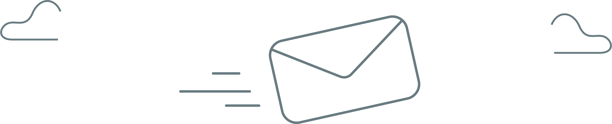 Mail flying